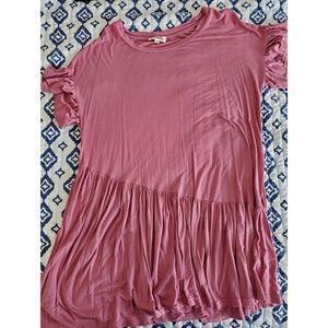 Long Ruffle Shirt